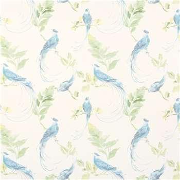 Harewood Duck Egg Wallpaper