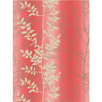 Harlequin Persephone Wallpaper, Coral, 110183
