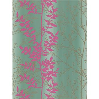 Harlequin Persephone Wallpaper, Grey / Pink,110182