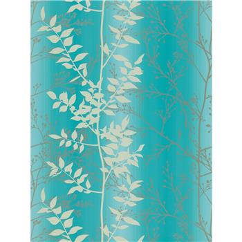 Harlequin Persephone Wallpaper, Teal, 110184