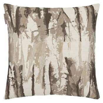 Harlequin Takara Cushion, Steel/Chalk (50 x 50cm)