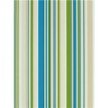 Harlequin Wallpaper, Rush 70531, Green / Blue