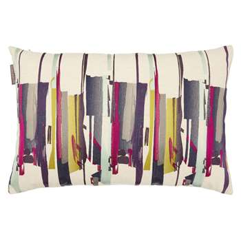 Harlequin Zeal Cushion, Aqua/Lime/Magenta (40 x 60cm)