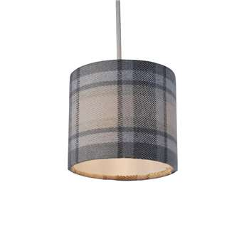 "Harris Shetland 5"" Pendant Light Shade (H12.5 x W12.5 x D12.5cm)"