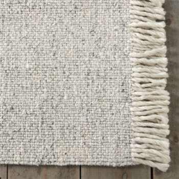 Harrogate Wool Tassel Rug, Ivory (200 x 300cm)