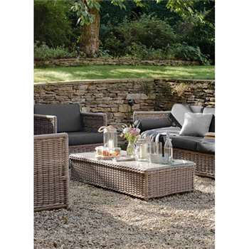 Harting Sofa Set - All-weather Rattan