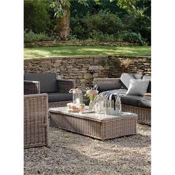 Harting Sofa Set - All-weather Rattan