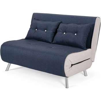 Haru Small Sofa bed, Quartz Blue (78 x 121cm)