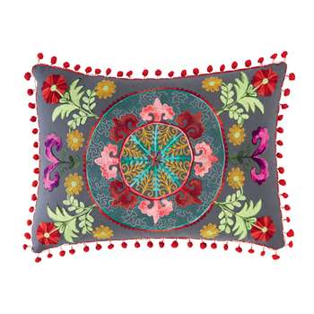 HASCO cotton cushion, multicoloured (30 x 50cm)