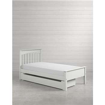 Hastings Kids Grey Storage Bed (H100 x W103 x D206cm)