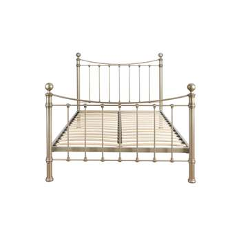 Hastings Pewter Double Bed Frame (135 x 146cm)
