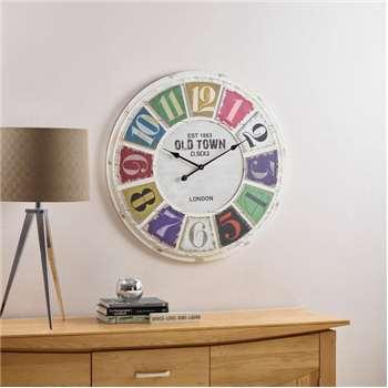 Havana Wall Clock (Diameter 78cm)