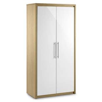 Haven Two Door Wardrobe (H180 x W87 x D50cm)