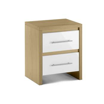 Haven Two Drawer Bedside Cabinet (56 x 46cm)