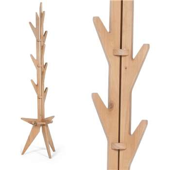 Hawthorn Coat Stand, Pine (182 x 46cm)