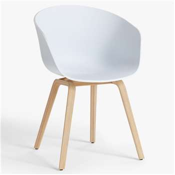 HAY About A Chair AAC22 Dining Chair, White (H79 x W59 x D52cm)