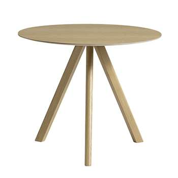 HAY - Copenhague Round Table - Oak Matt Lacquer (74 x 90cm)