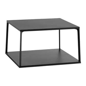 HAY - Eiffel Square Coffee Table - Ink Black (H38 x W65 x D65cm)