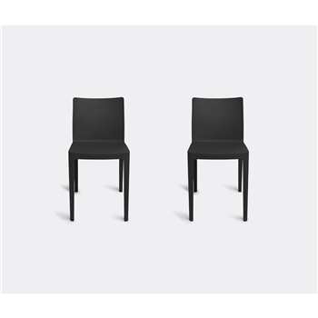 Hay Furniture - Elementaire Chair, Anthracite (H79.5 x W42 x D49.5cm)