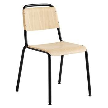 HAY - Halftime Chair - Black Powder (H83.5 x W55 x D59cm)