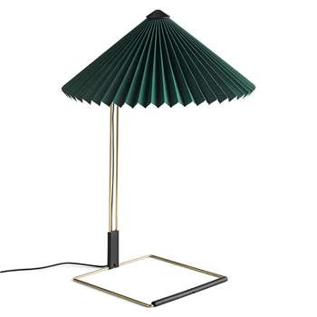 HAY - Matin Table Lamp - Green - L (H58 x W38 x D38cm)