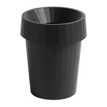 HAY - Shade Bin - Black (H36.5 x W30 x D30cm)