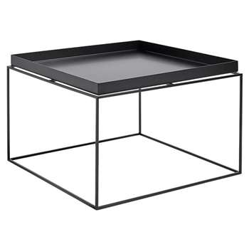 HAY - Tray Coffee Table - Black (H39 x W60 x D60cm)