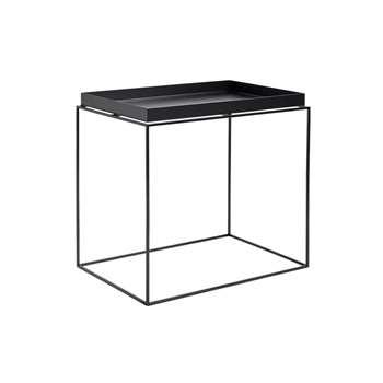 HAY - Tray Side Table - Black (54 x 60cm)