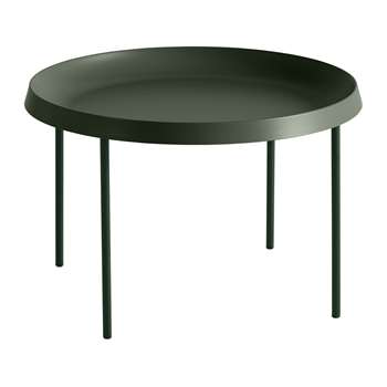 HAY - Tulou Coffee Table - Matt Green (H35 x W55 x D55cm)