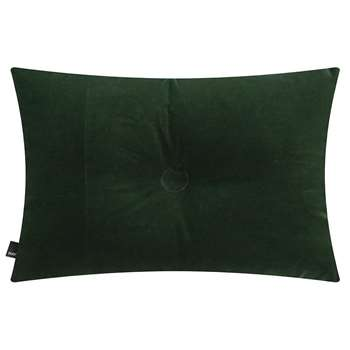 HAY - Velour Dot Cushion - Dark Green (H45 x W60cm)