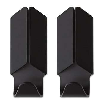 HAY - Volet Hook - Set of 2 - Black (Height 8cm)