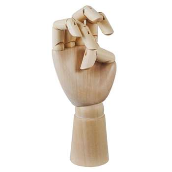 HAY - Wooden Hand Decoration - Small (13.5 x 6cm)