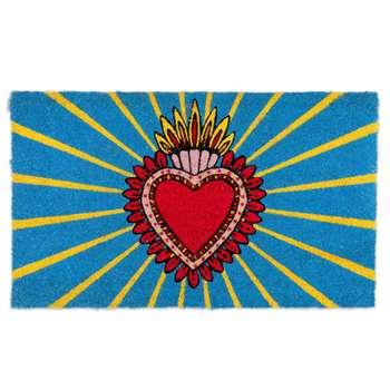 Heart Design Doormat (H45 x W75cm)