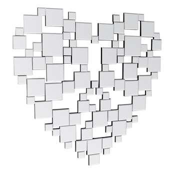 Heart Mirror (H100 x W100cm)