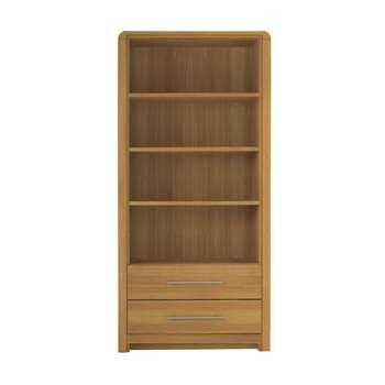 Heart of House Elford Bookcase - Oak Effect (189.5 x 90cm)