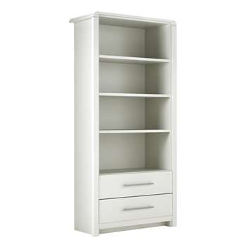 Heart of House Elford Bookcase - White (189 x 90cm)