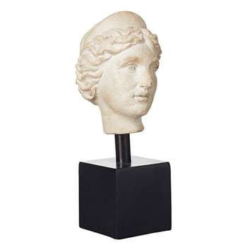 Helena Portrait Head - Off-White (23 x 10cm)