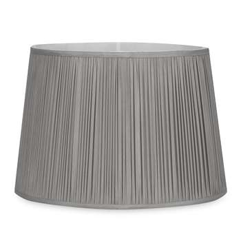 Hemsley Charcoal Pleated Shade