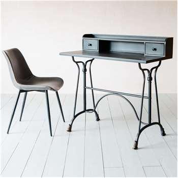 Henri Metal Desk (H98 x W100 x D50cm)