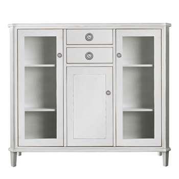 Henshaw Pale Steel Low Display Unit (116 x 128cm)