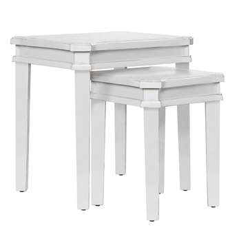 Henshaw Pale Steel Nest of Tables (52 x 52cm)