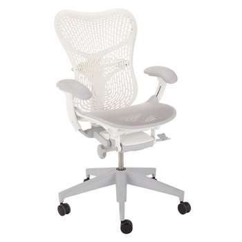 Herman Miller Mirra 2 Triflex Office Chair, White (H111 x W68.6 x D43cm)