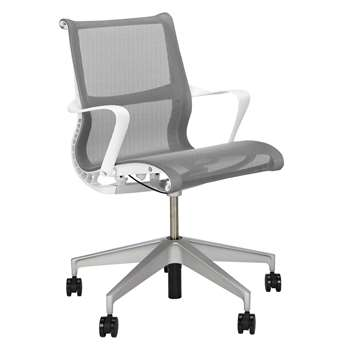Herman Miller Setu Multi Purpose Chair, Alpine (H94.5 x W64 x D44cm)