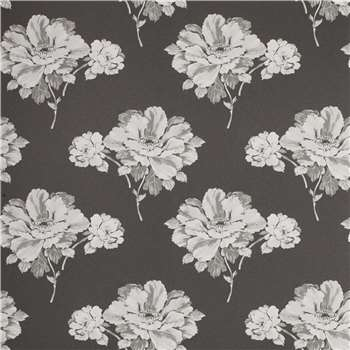 Hermione Charcoal Floral Wallpaper