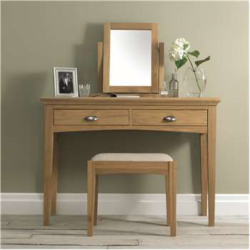 Heronford Oak Dressing Table Set