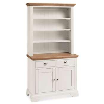 Heronford Oak & Ivory Dresser (H200 x W107 x D48cm)