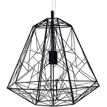 Hive Pendant, Black (50 x 43cm)