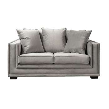 Holburn two Seat Sofa  – Dove Grey (H69 x W170 x D110cm)