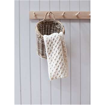 Holkham Utility Basket - Rattan (Height 29cm)