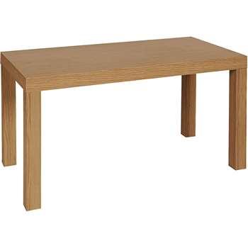 HOME Coffee Table - Oak Effect (Width 90cm)